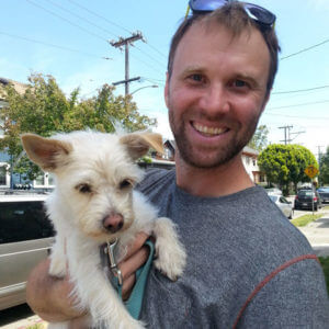 Oakland dog walker Patrick